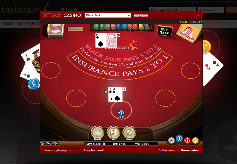 jugar blackjack online