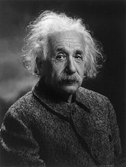 """Einstein: """"You can't beat roulette, kids!""""."""