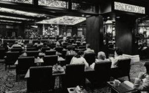 Las Vegas Lounge Keno en la década de los 70s.